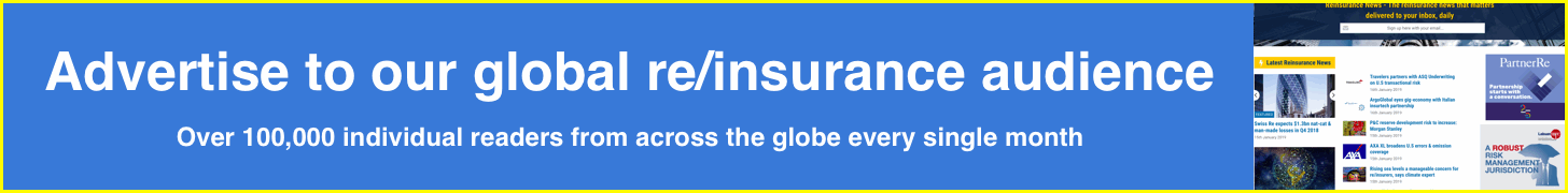 Advertise on Reinsurance News