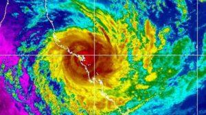Cyclone Debbie IR