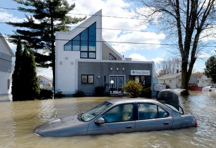 Canada floods photo from CTV