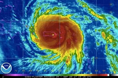 Dominica's Prime Minister Says Hurricane Maria Left 15 Dead