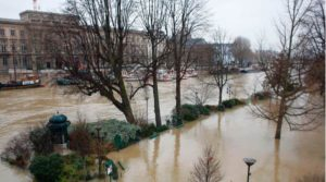 Paris flooding