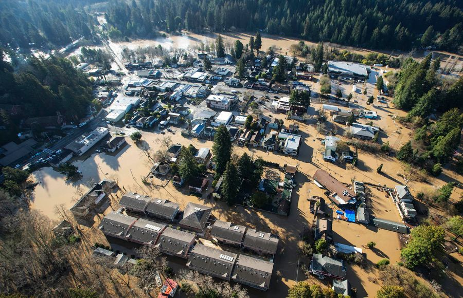 State of emergency declared for 5 flooded counties in Northern California