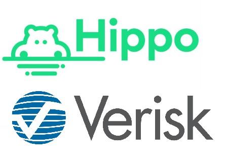 hippo-insurance-and-verisk-logos